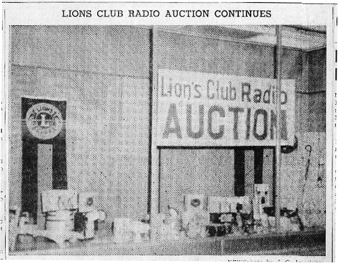 Lion's Club Auction