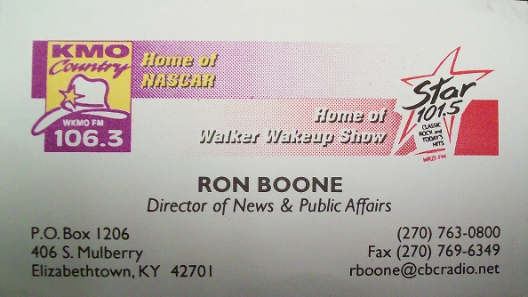 Ron Business Card