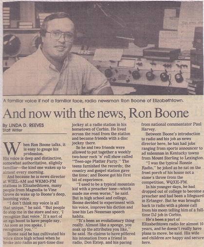 Ron Article